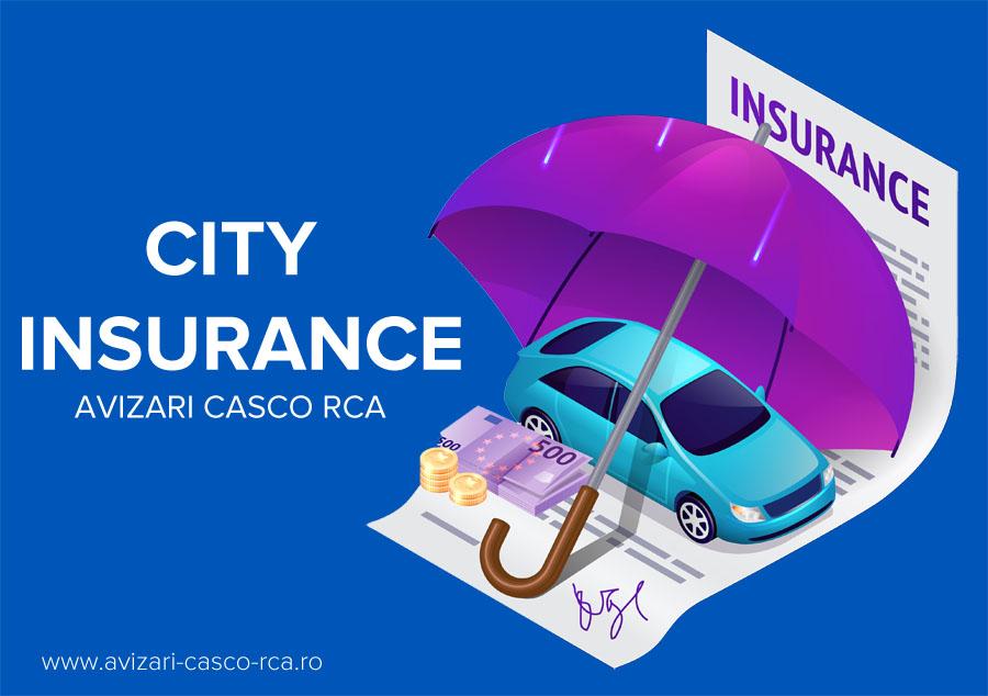 avizare daune city insurance